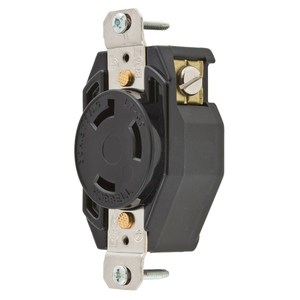 Hubbell-Kellems L730R Locking Connector Receptacle, 30A, 277V, L7-30R