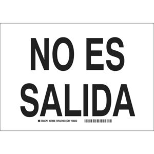 37686 SPANISH SIGN