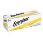 Energizer EN93 C Battery, Alkaline, 1.5V, 8,000 mAh