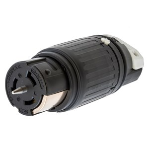 Hubbell-Kellems CS6364C Locking Connector, 50A, 125/250V, California Style, 3P4W
