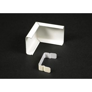 Wiremold WH2018C STL EXT. ELBOW COVER 2000 WHITE