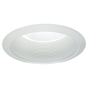 "Sea Gull 1151AT-14 Deep Cone Baffle Trim, Wet Location, 5"", White"