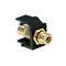 40830-BEE BLK QKPORT SNAPIN MODUE W/ BLK
