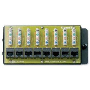 ON-Q AC1068 Cat6 8-Port Data Module