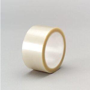"""3M 850-SILVER-1/2X72YD-BULK Polyester Film Tape, Silver, 1/2"""" x 72 Yd, 1.9 mil"""