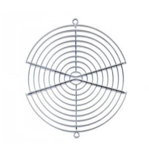 592-1095 Fan Guard, 172 mm, Steel, Chrome
