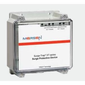 Mersen STXT480D10A Surge Protective Device, 480VAC, Delta, 100kAIC, Audible Alarm