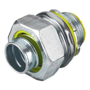 "Hubbell-Wiring Kellems H1001 Liquidtight Connector, Straight, Size: 1"", Material: Steel, Limited Quantities Available"