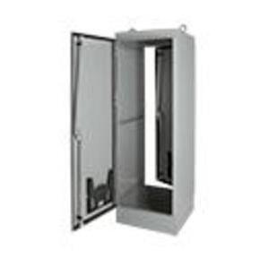 "Hoffman A723618FSG Enclosure, Free-Standing, Single/Dual Access, NEMA 12, 72 x 36 x 18"""