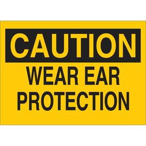 25476 EAR PROTECTION SIGN