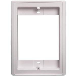 "Broan NF300DWH Rough-In Frame, Cutout: 6-5/8"" x 4-7/8"", White, Non-Metallic"