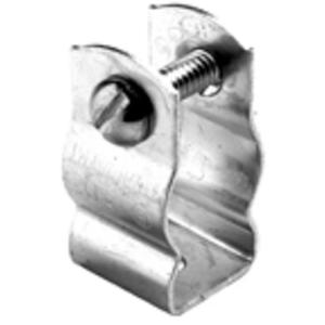 """Bridgeport Fittings 2100 Conduit Hanger with Bolt, Diameter: 1/2"""", Steel"""