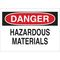 22751 CHEMICAL & HAZD MATERIALS SIGN
