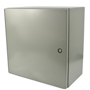 "nVent Hoffman CSD16168 Wall Mount Enclosure, NEMA 4/12, Concept Style, 16"" x 16"" x 8"""