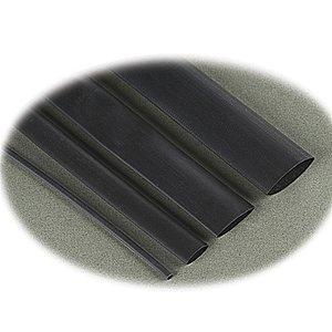 """Thomas & Betts CPO-A-375-48 Heat Shrink, Thin-Wall, 0.375"""", Black, 6 -16 AWG, 48"""" Piece"""