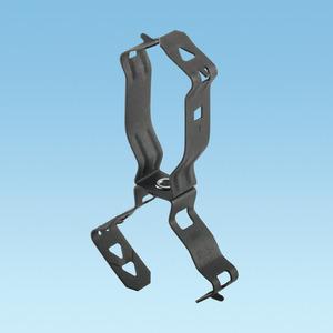 Panduit P166M Snap Close Conduit Clip; Fits EMT/Rigid/