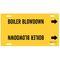 4015-F 4015-F BOILER BLOWDOWN/YEL/STY F