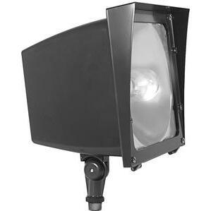 RAB EZHH70QT/PC Ez Flood 70w Mh Qt Hpf Lamp And 120v Pc Bronze