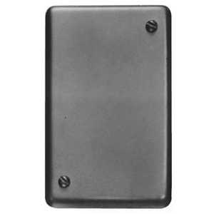 Cooper Crouse-Hinds DS100 Blank Cover, 1-Gang, Cast Aluminum