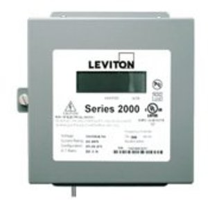 Leviton 2N480-21 Three Element Meter