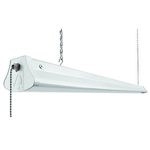 Lithonia Lighting 1290L LED Shop Light w/Plug, White