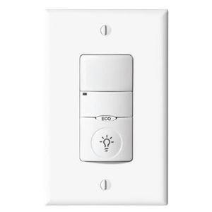 Greengate ONW-P-1001-SP-W Low Voltage Wall Switch Sensor, PIR, 10-30 VDC Input, White