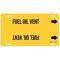 4066-F 4066-F FUEL OIL VENT YEL/BLK STY