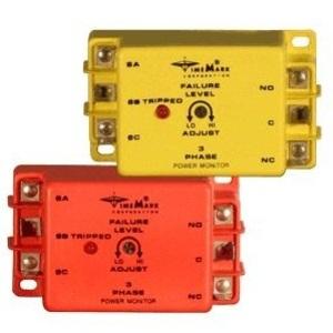 Time Mark A158B Power Monitor, 3-PH, 480VAC, 380 - 500VAC Range, SPDT Output