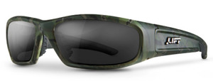 Lift Safety ESH-17CST SWITCH SAFETY GLASSES (CAMO/SMOKE)