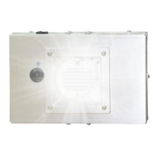"PURO Lighting H-F1-12-6-P-COM-110 Disinfecting Fixture Unit, Single UV Light, 12""x12"" Flange"