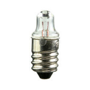 Candela 222-I Miniature Lamp, .56 Watt, 2.25 Volt, T2, Miniature Screw Base