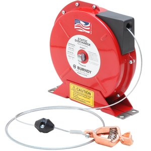 Burndy BSD2050 Static Discharge Reel,cbl length:50feet
