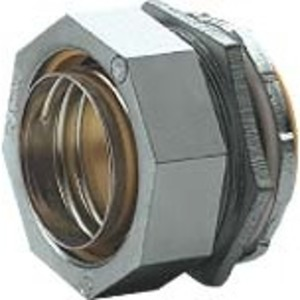 "Hubbell-Killark K125 KIL K125 1 1/4"" STR LT CONNECTOR"