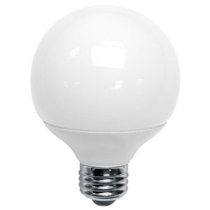 TCP 4G2514A Compact Fluorescent Lamp, G25, 14W, 120V, White
