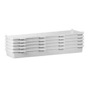 "ON-Q ENP42805 Plastic Enclosure, No Cover, 42"" Long, 5 Pack"