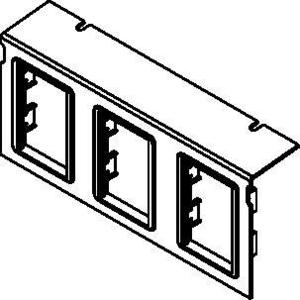 Wiremold C10105P-3ACT Communication Plate