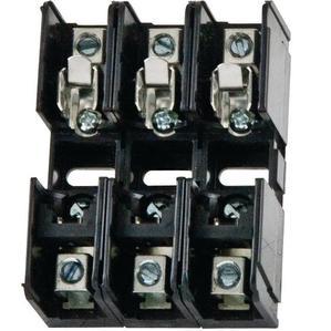 Littelfuse L60030C-3C Fuse Block, 30A, 3P, 600VAC, Class CC
