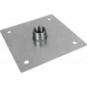 "Orbit Industries RCP-125 Roof Coupling Plate, 6 x 6"", Galvanized Steel"