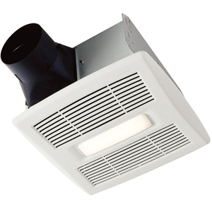 Broan AE50-110DCSL Flex Dc Series Humidity Sensing Bathroom Exhaust Fan w LED