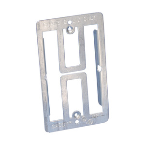 nVent Caddy MP1 Mounting Bracket, 1-Gang, Low Voltage, Cut-In, Metallic