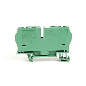 Allen-Bradley 1492-L4-G Terminal Block, 33A, 600V AC/DC, Green, 26 - 10AWG, 4mm