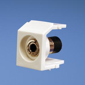 Panduit NK35MSSEI NK 3.5mm Stereo Coupler, Solder Type, El