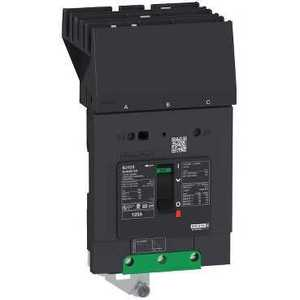 Square D BDA36080 Breaker, Molded Case, 80A, 600Y/347VAC, 3P, 18kAIC, PowerPact