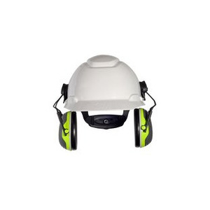 3M X4P3E Earmuffs, Hardhat-Attached