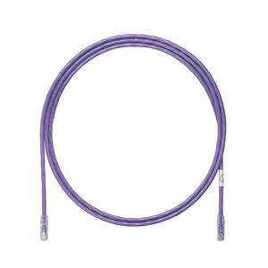 Panduit UTP6A3VL Copper Patch Cord, Cat 6A, Violet UTP Ca