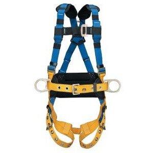 Werner Ladder H332105 LITEFIT Construction Harness, Tongue Buckle Legs (XXL)