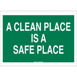 22827 SAFETY SLOGANS SIGN