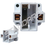 SOCKET 38112 CF 2PIN 13W VERTICAL