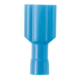 """Panduit DPF14-250FIM-L Male Disconnect, Nylon Insulated, 16 - 14 AWG, Tab: 0.25 x 0.032"""""""