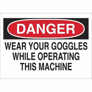 22621 PROTECTIVE WEAR SIGN